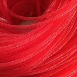 Résille tubulaire Rouge, 6 mm ø - au mètre