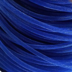 Résille tubulaire Bleue, 6 mm ø - au mètre