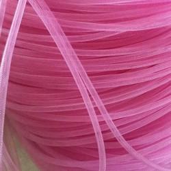 Résille tubulaire Rose, 6 mm ø - au mètre
