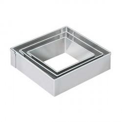 3 emporte-pièces Losange métalliques pour pate polymère
