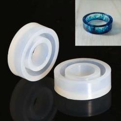 Moule silicone pour résine Bague 27 mm
