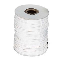 Cordon en coton, ciré, 1 mm ø - 6 couleurs