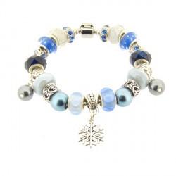 Bracelet style pandora Hivernal