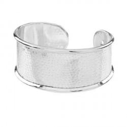 Bracelet manchette avec rebord 18 cm, largeur 3,1 cm