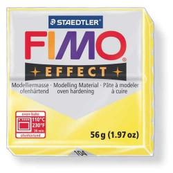 Fimo Effect 104 Jaune Translucide - 56 gr