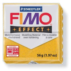 Fimo Effect 112 Or Pailleté - 56 gr