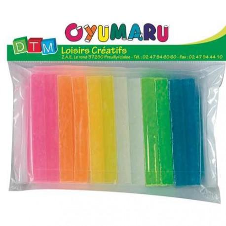 12 bâtons pâte Oyumaru