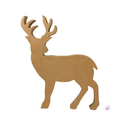Silhouette Cerf à décorer