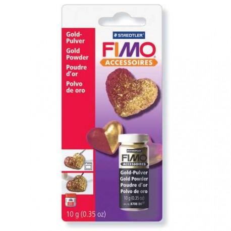 Poudre métal Or pour pâte Fimo