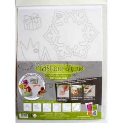 Kit Plastique dingue Formes Noël