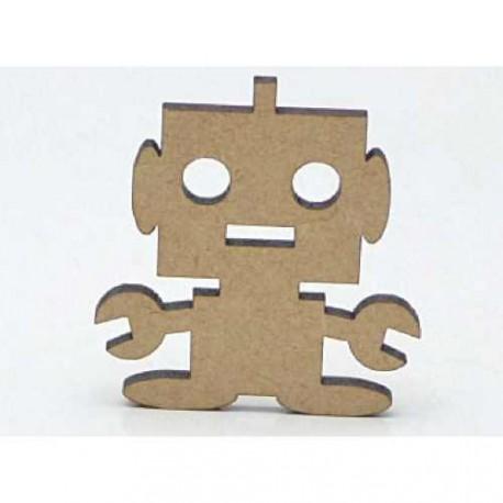 Enfants - Robot Sujet en bois brut