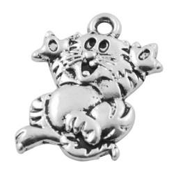 Pendentif breloque en métal Chat Aristochat