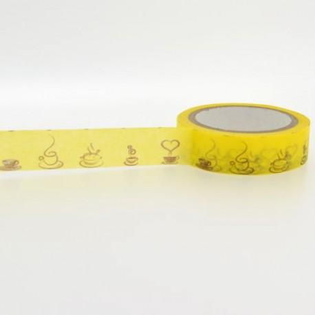 Masking Tape Pause Café - 15 mm x 10 m