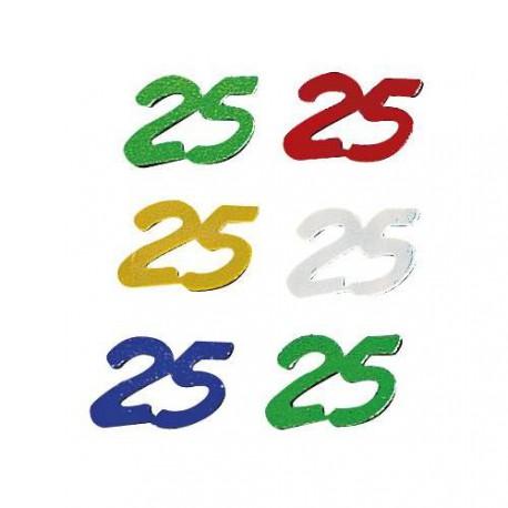 Paillettes jubilé 25