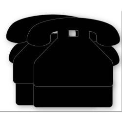 Sticker Ardoise Téléphone