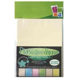 Plastique dingue Pastel, pochette 6 feuilles