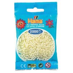 Sachet 2000 Perles Hama Mini - Crème