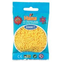 Sachet 2000 Perles Hama Mini - Jaune