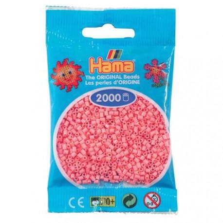 Sachet 2000 Perles Hama Mini - Rose