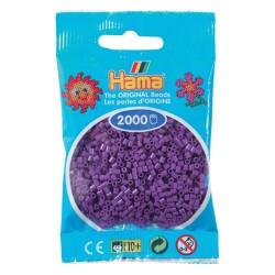 Sachet 2000 Perles Hama Mini - Violet
