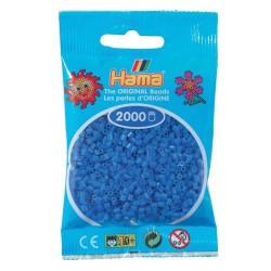 Sachet 2000 Perles Hama Mini - Bleu