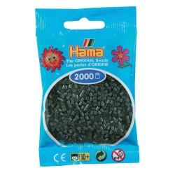 Sachet 2000 Perles Hama Mini - Vert foncé
