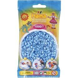 Sachet 1000 Perles Hama Midi - Bleu pastel