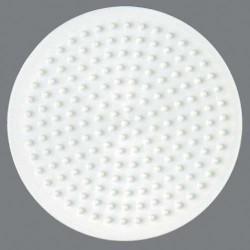Plaque perles à repasser Hama Midi - Rond Petit modèle