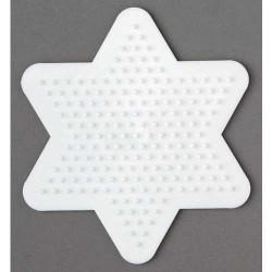 Plaque perles à repasser Hama Midi - Etoile Petit modèle