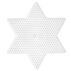 Plaque perles à repasser Hama Midi - Etoile Grand modèle
