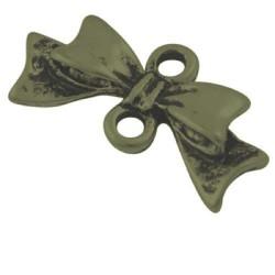 Pendentif breloque en métal Noeud Bronze antique