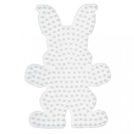 Plaque perles à repasser Hama Midi - Lapin Grand modèle