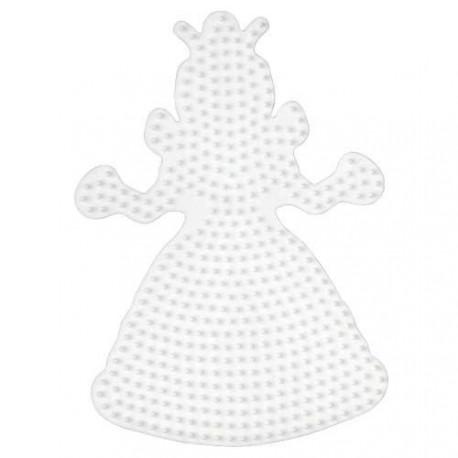 Plaque perles à repasser Hama Midi - Princesse Grand modèle