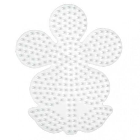 Plaque perles à repasser Hama Midi - Fleur Grand modèle