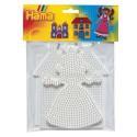 Lot 2 Plaques perles à repasser Hama Midi - Grand modèle Princesse, Maison