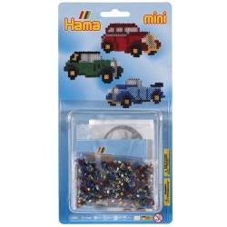 Kit perles à repasser Hama Mini - Voitures anciennes
