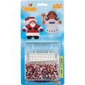 Kit perles à repasser Hama Mini - Noël