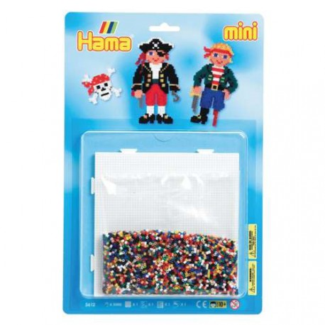 Kit perles à repasser Hama Mini - Pirates