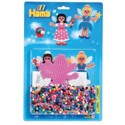Kit perles à repasser Hama Midi - Fée
