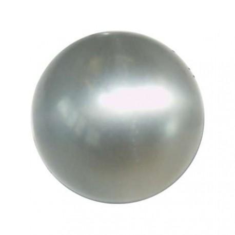 Perle Polaris gris perlé, brillant, ronde 10 mm - à l'unité