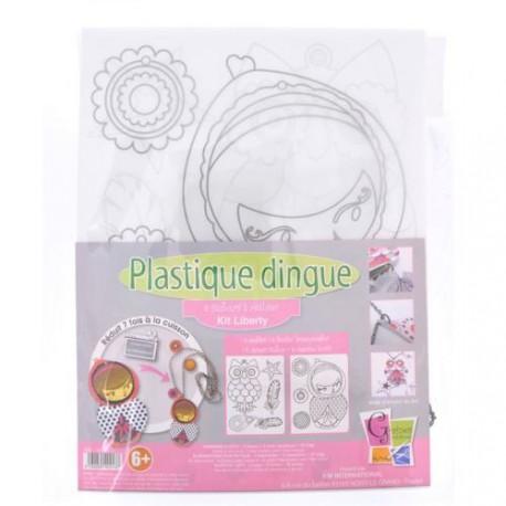 Kit Plastique dingue Bijoux sautoir - Colliers Liberty