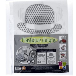 Kit Plastique dingue Bijoux sautoir - Colliers Moustaches