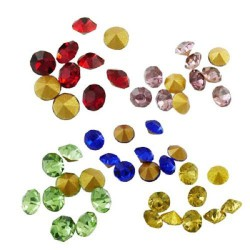 Strass imitation diamant, rond 2 mm x 1400