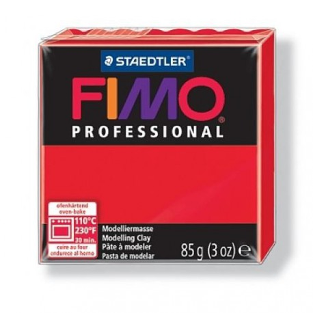 Fimo Professional Rouge pur 200 - 85 gr