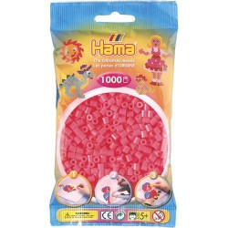 Sachet 1000 Perles Hama Midi - Rouge fluo