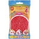 Sachet 1000 Perles Hama Midi - Rouge néon