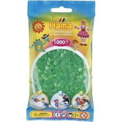 Sachet 1000 Perles Hama Midi - Vert transparent