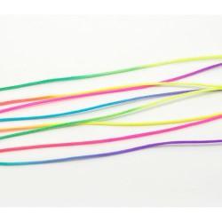 Cordon nylon multicolore fluo 1,5 mm ø