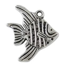 Pendentif breloque en métal Poisson