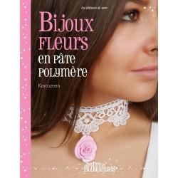 Livre Bijoux Fleurs en pâte polymère